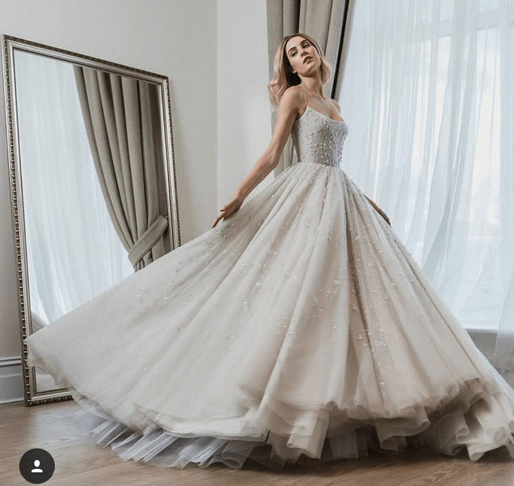 Once upon a dream paolo sebastain ss18 the balanced blog for Walt disney wedding dress
